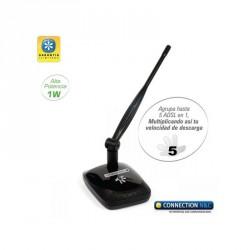 Adaptador Wifi USB largo alcance. 150 mps